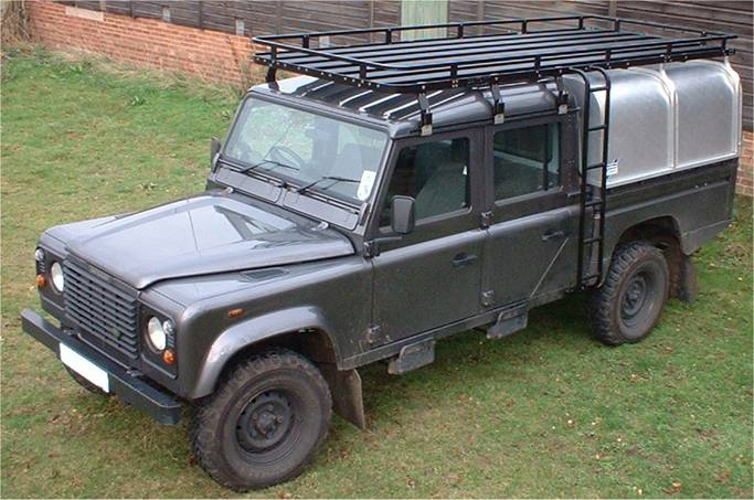 , Patriot Roofracks gallerij, Vis Land Rover, Vis Land Rover