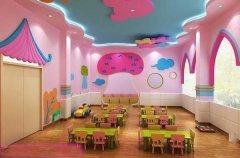 幼儿园教室装修设计:可爱风格