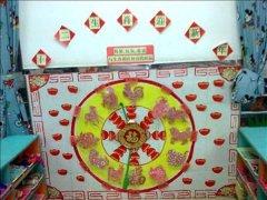 幼儿园春节十二生肖主题墙饰:十二生肖迎新年
