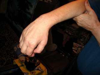 Фиксирующая шина-ортез для кисти и лучезапястного сустава