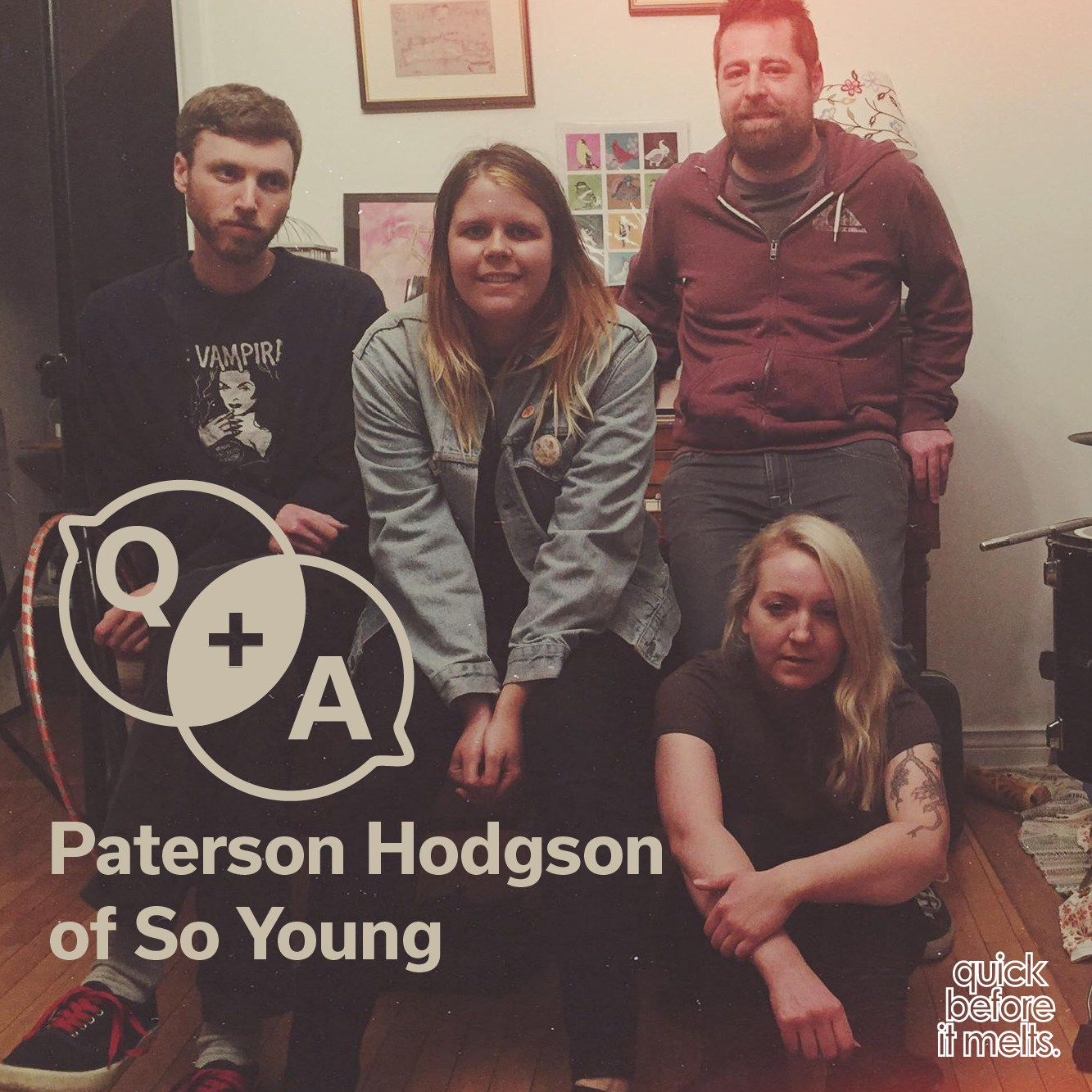 Q+A >> PATERSON HODGSON of SO YOUNG