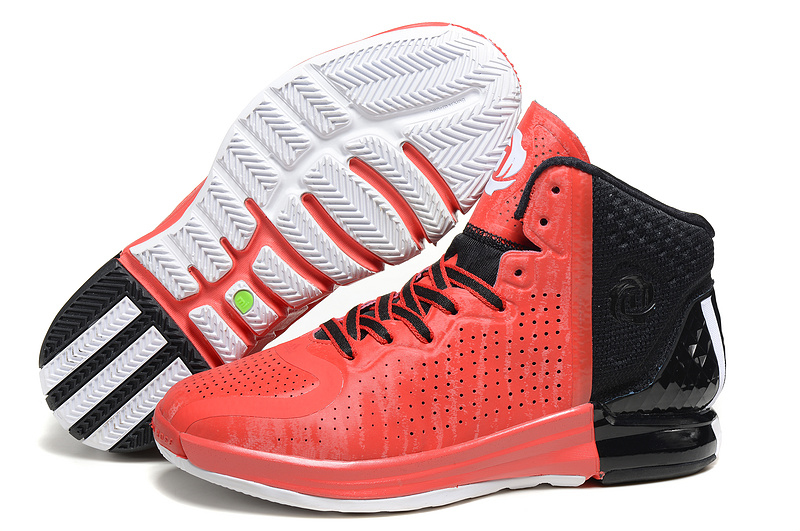 Adidas D Rose 4.0 red black