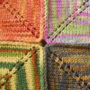 The Barn Raising Quilt can be knit by anywhere from 1 to 100 knitters.