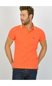Polo Multi tip degraded colour collar de Fred Perry