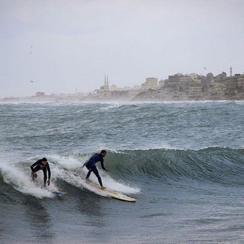 #Surfing in #Gaza #Palestine #Surf
