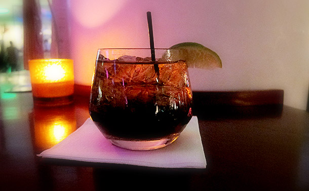 Manly Drinks Jack and Coke