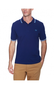Polo-shirt Fred Perry Azul c M1200
