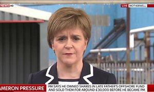 Nicola Sturgeon on Sky News