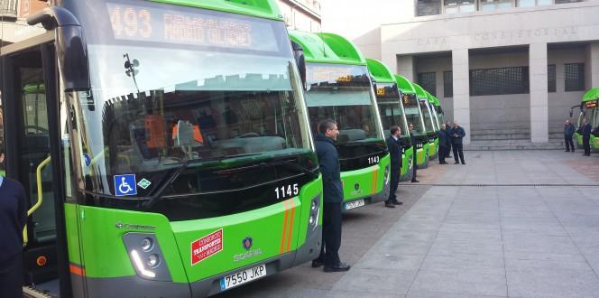 Scania ha matriculado 40 autobuses en febrero.