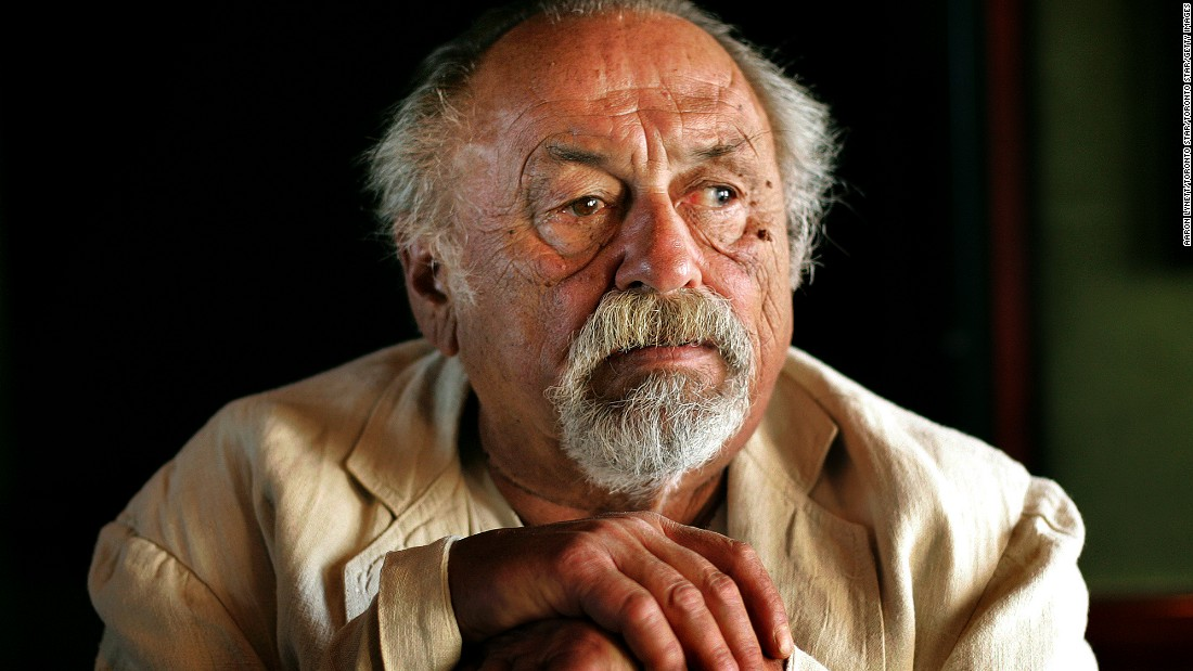 """Author and poet <a href=""""http://www.cnn.com/2016/03/27/entertainment/author-jim-harrison-obit-legends-fall-feat/index.html"""" target=""""_blank"""">Jim Harrison</a>, seen here in 2007, died Saturday, March 26, at his winter home in Arizona. He was 78. His many books include """"Legends of the Fall,"""" which was made into a 1994 movie starring Brad Pitt and Anthony Hopkins."""