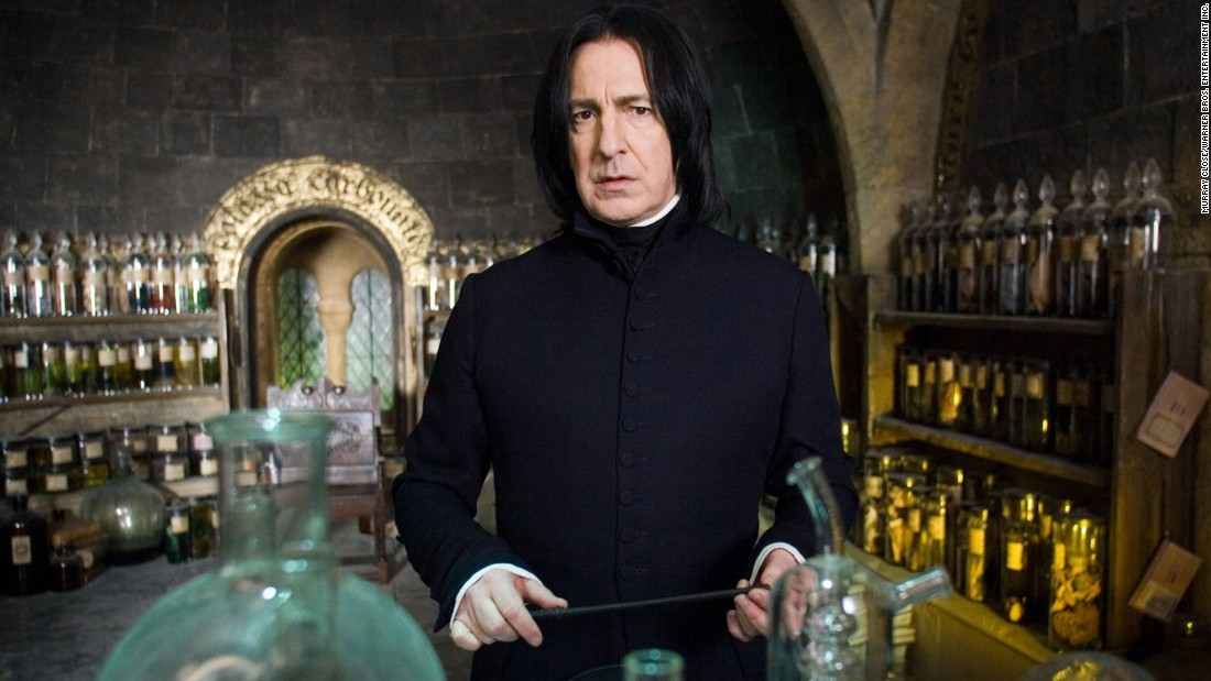 """<a href=""""http://www.cnn.com/2016/01/14/entertainment/obit-alan-rickman/index.html"""" target=""""_blank"""">Alan Rickman</a>, the British actor who played the brooding Professor Severus Snape in the """"Harry Potter"""" series years after his film debut as the """"Die Hard"""" villain Hans Gruber, died January 14 after a short battle with cancer, a source familiar with his career said. He was 69."""