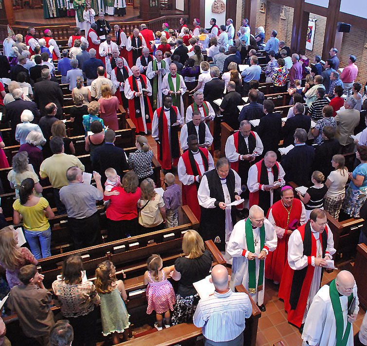 house of bishops acna procession