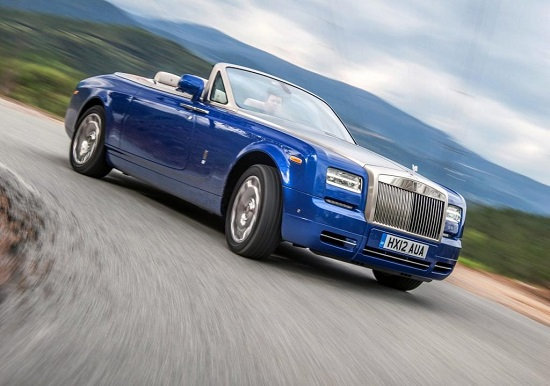 Phantom Drophead Coupé Bespoke Waterspeed Collection