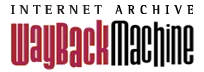 logo: Internet Archive's Wayback Machine