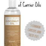 What is a carrier oil? When would you use a carrier oil? Learn about 5 common carrier oils and how to get the right essential oil dilution.   Virginia George