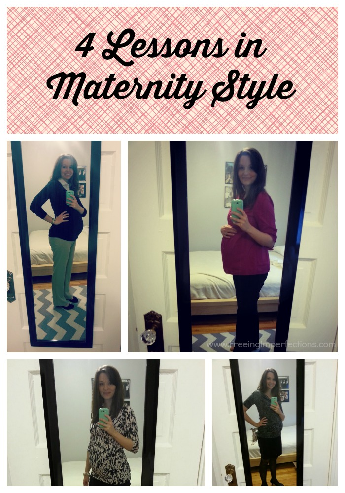 4 Lessons in Maternity Style: tips on creating a wardrobe that works for you and your budget