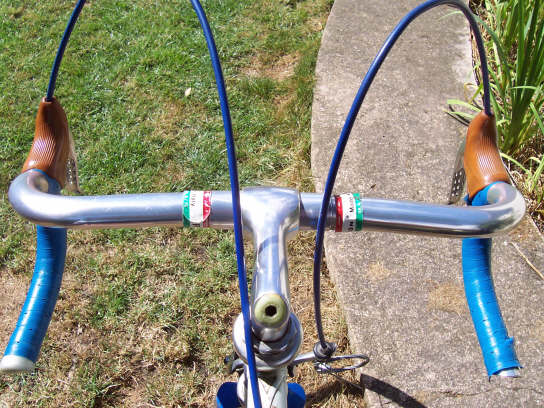 Raleigh Road Ace Shimano 600 stem with Dura Ace handlebars