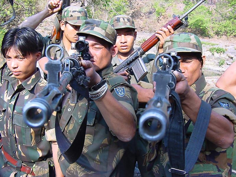 Indian ULFA rebels