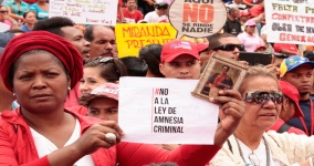 While the amnesty law has emerged as a priority for MUD legislators, the legislation has been fiercely opposed by Maduro and his