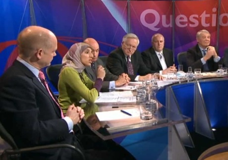 Question Time: celebrating the cosy consensus