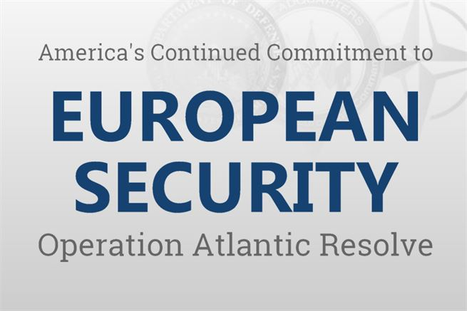 The United States is demonstrating its continued commitment to collective security through a series of actions designed to reassure NATO allies and partners of America's dedication to enduring peace and stability in the region in light of the Russian intervention in Ukraine.