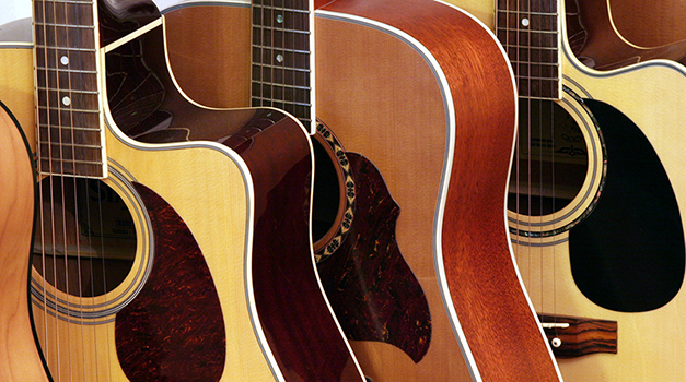 Acoustic Guitar Woods