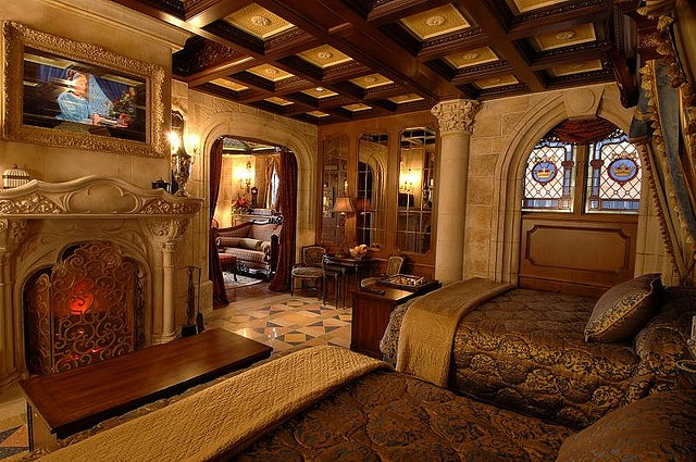 5.) There is a suite in Cinderella's Castle that can't be booked and you can only stay there if you win a contest.