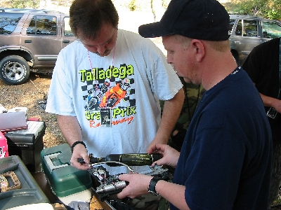 Tim and Johnny perform emergency gun surgery