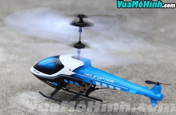 S860 Victor Flying mô mình máy bay trực thăng mini cỡ nhỏ 2 tầng 4 cánh chạy pin sạc điều khiển từ xa