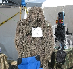 Not many events where you'll find ghillie suits for sale..