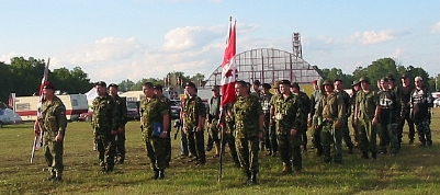 the Canadian regiment