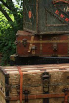 Seattle Vintage Rentals Trunks and Crates