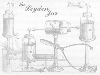 a plethora of leydens, images from 'Rudimentary Electricity' by Snow-Harris 1853