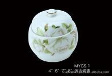 【明洁良品】潮州仿古炖盅 酒店瓷器 镁质瓷创意 陶瓷餐具厂家