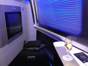 British Airways First Class on 62,500 miles and ~$300! Retail price $10,000+