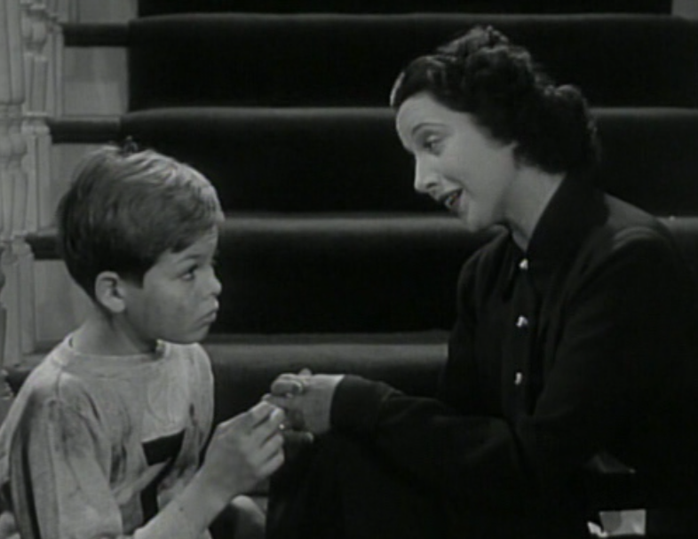 With screen mom Kay Francis (aka Sweetheart) in My Bill (1938)