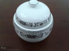 【明洁良品】饭馆 居家必备 酒店瓷器 镁质瓷创意 陶瓷餐具厂家 仿古炖盅 样品