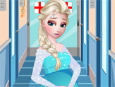 Elsa Grávida no Hospital