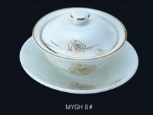 【明洁良品】潮州燕窝盅 酒店瓷器 镁质瓷创意 陶瓷餐具厂家