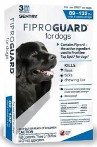 Fiproguard for dogs for flea control