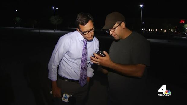 [LA] Caught on Video: Terrifying Moments for Family Near Gun Battle