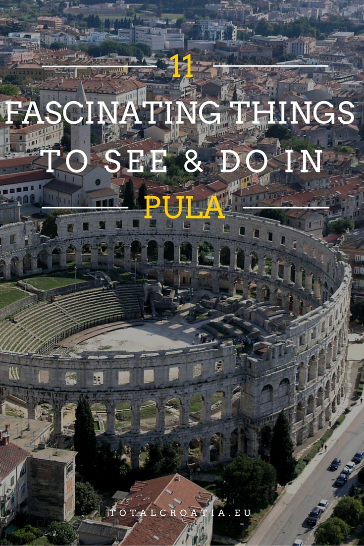 The ancient Romans definitely knew how to live majestically. And Pula is the living proof. totalcroatia.eu