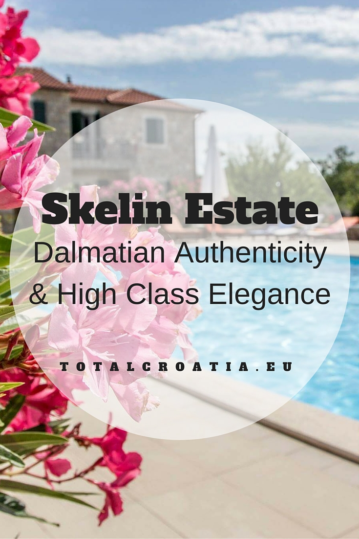 The Skelin estate radiates with eclectic marriage of old world comfort and contemporary design combined with lauded Croatian traditions. totalcroatia.eu