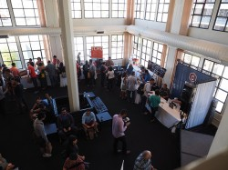 More crowds inside CoffeeCon SF 2014