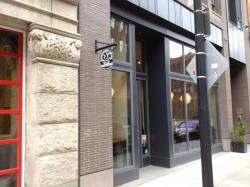 Entrance to Barrington Coffee Company