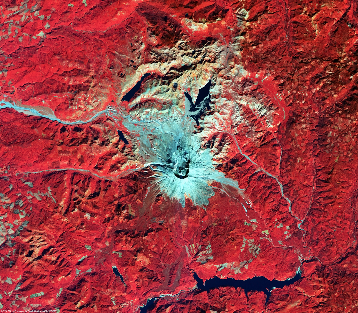 MountSaintHelens_Volcano_ALOS_AVNIR2_Date11Oct06_Bands431preview