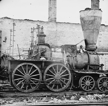 A Confederate steam engine