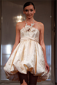 Summer 201 Wedding Dress Trends Short Dresses.
