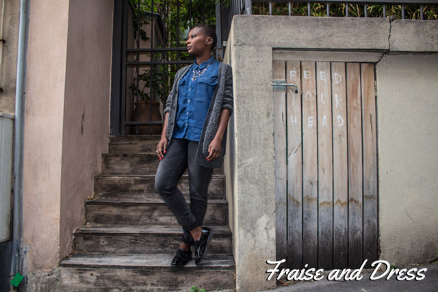 UNE-Fraise-and-Dress-Latitefraiz-Blog-Mode-Afro-Look-Street-Paris