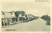 Front Street, Cotulla, Texas 1920s